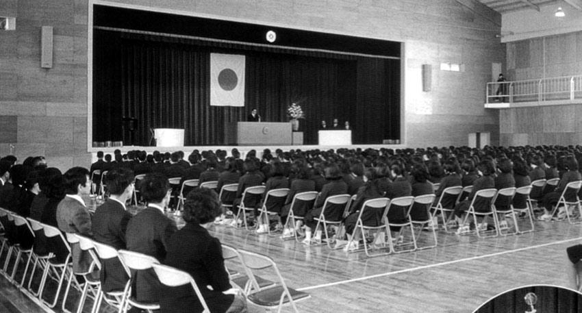 昔の卒業式